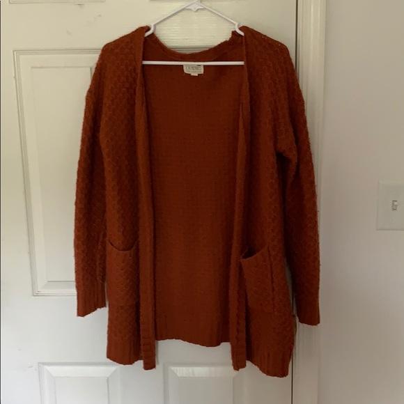 PacSun Sweaters - Burnt orange Cardigan